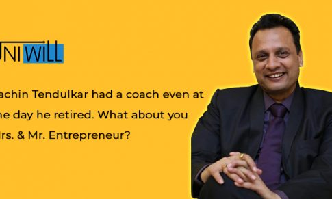 Sachin Tendulakar had a coach even at the day of retired. What about you Mr. Entrepreneur ?